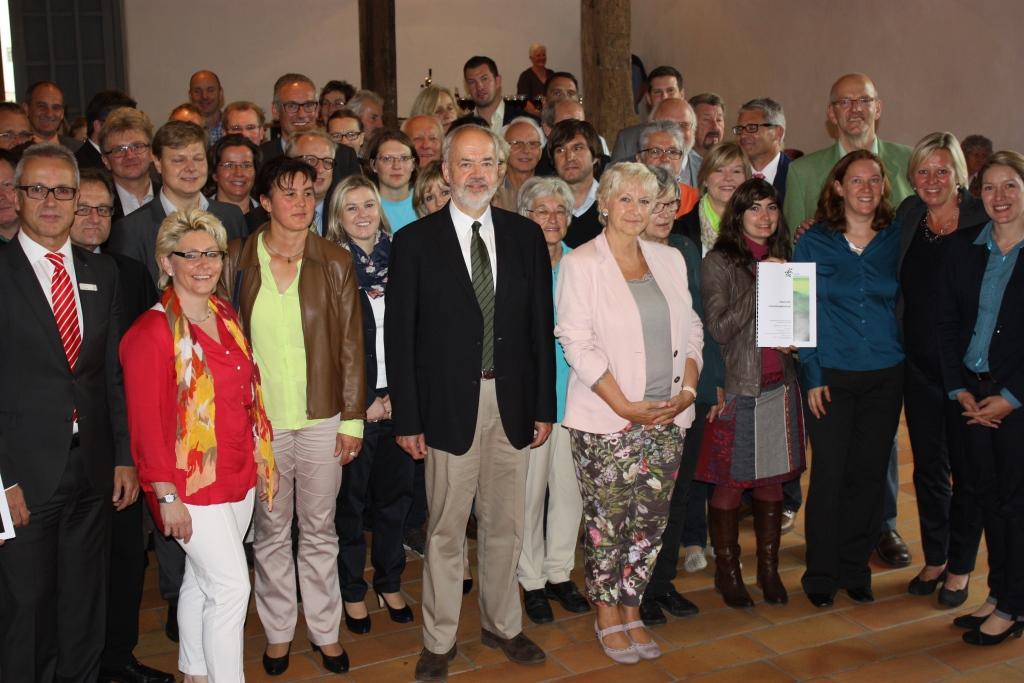 Unterzeichnung Regionales Entwicklungskonzept LEADER Mittlere Alb 24.09.2014