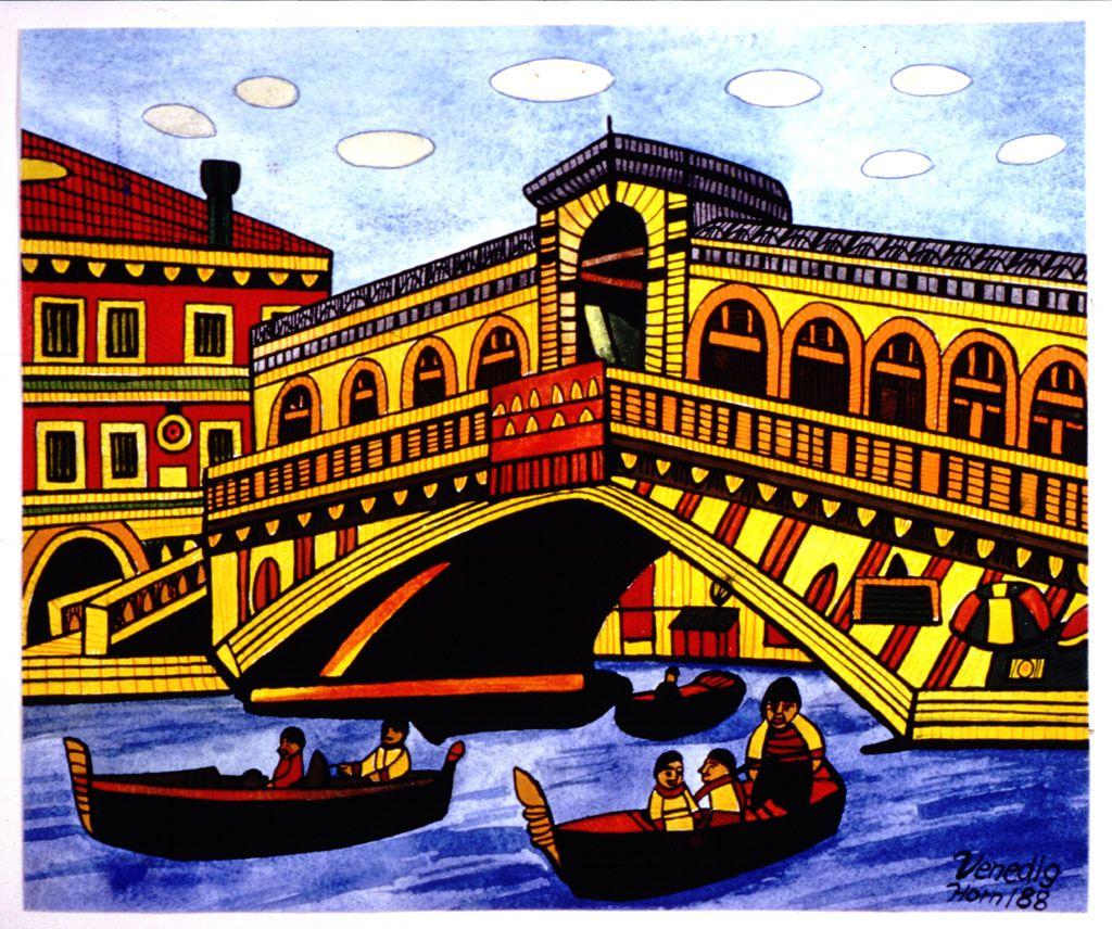 Rialtobrücke, Carolus Horn