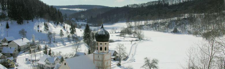 Winterliches Bichishausen