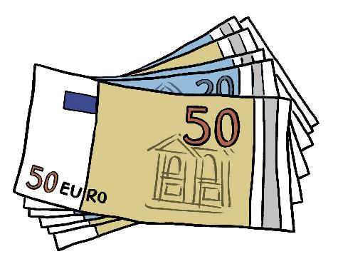 Das Bild zeigt verschiedene Geldscheine.