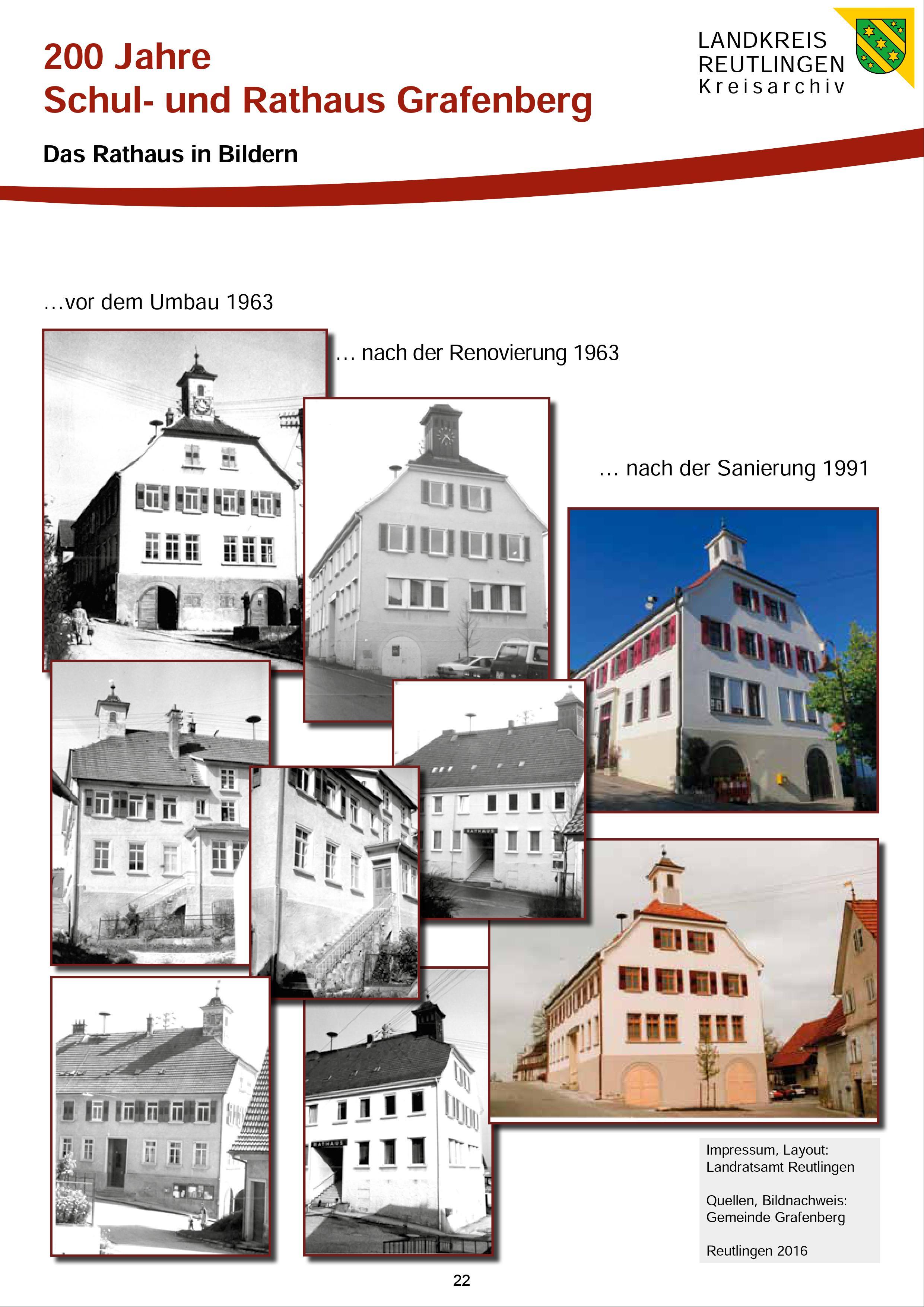 200 Jahre Schul- und Rathaus Grafenberg