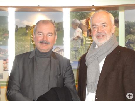 Botschafter Per Thöresson und Landrat Thomas Reumann, Bild: Landkreis Reutlingen