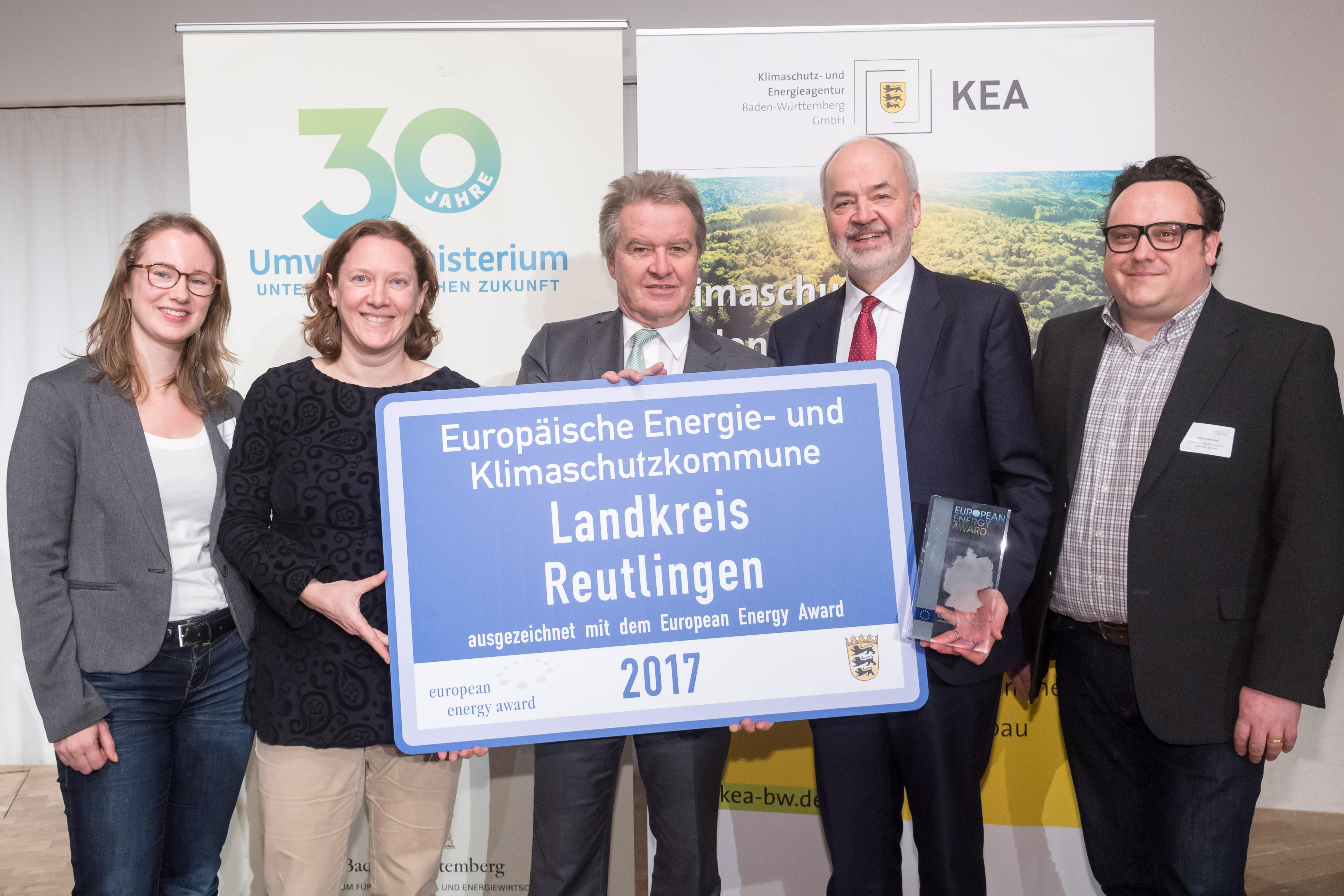 eea-Auszeichnung Ulm im Februar 2018