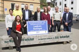 Energieteam nach erfolgreicher Zertifizierung