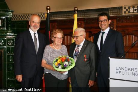 Hermann Wurz erhält das Bundesverdienstkreuz