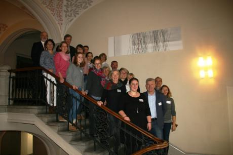 Ehrenamtlich und hauptamtlich Engagierte trafen sich im Landratsamt Reutlingen zu einem Austausch über kommunale Partnerschaften