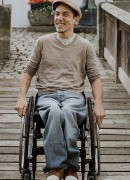 Tobias Binder, Kreisbehindertenbeauftragter, Foto: Miri Nussbächer