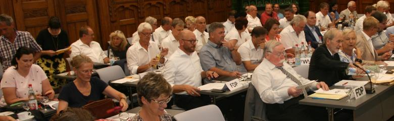 Kreistag im Großen Sitzungssaal 2019