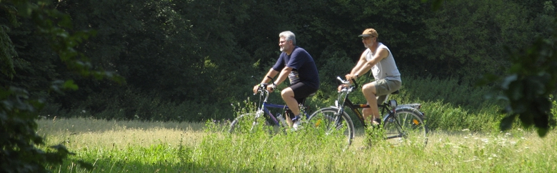 Radfahrer im Lautertal
