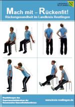 Plakat Rückengesundheit