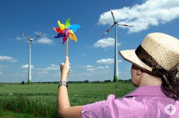 Für die Energiewende geben nicht nur die großen Räder den Ton an.