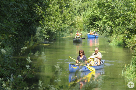 Lautertal – Kanu fahren in Bichishausen