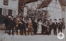 Rekruten und Frauen aus Pliezhausen vor dem Ersten Weltkrieg, Bild: Herbert Glöckner