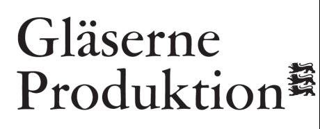 Verbraucherforum Ernährung Logo Gläserne Produktion