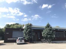 Außenansicht Integrationszentrum Ermstal