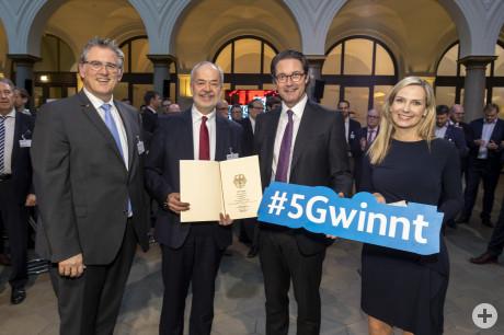 Landkreis Reutlingen wird 5G-Pionierregion- Bild: BMVI