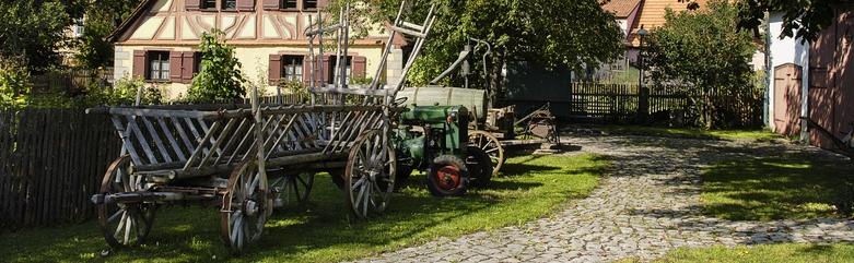 Bauernhof-Idylle
