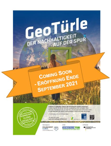 GeoTürle SDG-Geocaching im Landkreis Reutlingen